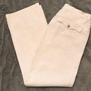 Karen Kane white jeans